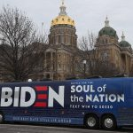 The Biden campaign cancelled events in Texas after a convoy of trucks flying Trump flags surrounded their bus and ran into a person's car, officials…